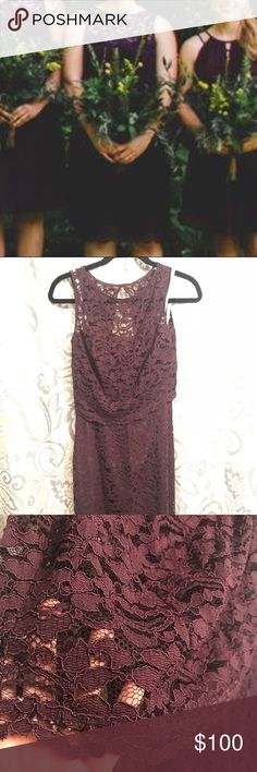 David's Bridal two piece dress size 6. Perfect for a summer wedding and in great condition. David's Bridal Dresses Strapless