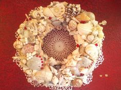 Redecorating? Add a flair from the beach.. email me with your color scheme and we can work together on a Fabulous Piece!!  gmail: Southerncharmchristmas@gmail.com Seashell Centerpieces, Beach Wedding Centerpieces, Got Married, Getting Married, Seaside Shops, Southern Charm, Wedding Themes, Sea Shells, Color Schemes
