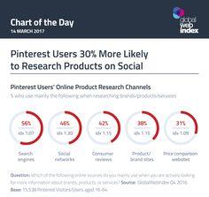 Social - Pinterest use