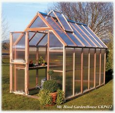 build your own greenhouse free plans