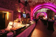 Kubicki Arcades at Royal Castle a perfect place for a Royal evening.