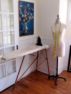 I have a petite ironing board similar this one that belonged to my mother.