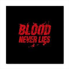 Dexter Blood Never Lies Face Towel Washcloth