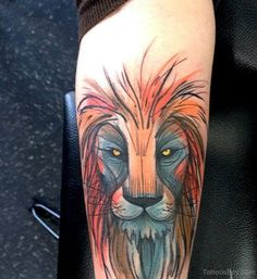 Lion Tattoos | Tattoo Designs Tattoo Pictures | Page 19