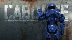 Caboose<3 Red Vs Blue....I love how he waves AT THE WALL!!  :D