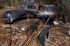 Centralia, Pennsylvania--Abandoned in 1984 due to an underground coal fire that still burns today