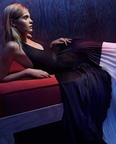 Alexis EXCLUSIVE Colorblock Pleated Gown | Shop IntermixOnline.com