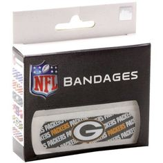 Green Bay Packers Game Day Bandages < Just in case... #UltimateTailgate #Fanatics