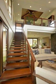 4 Asian Home Decor Ideas Modern Tropical House, Tropical House Design, Tropical Houses, Simple House Interior Design, Dream Home Design, Modern House Design, Modern Filipino House, Philippines House Design, Philippine Houses