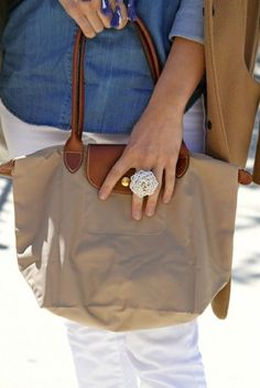 I'd like to have a longchamp eventually. They're simple, go with anything and seem pretty good quality :)