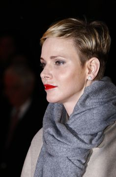 Princess Charlene of Monaco attends the 'Sainte-Devote' procession, on January 26, 2016 in Monaco