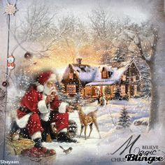 believe in the magic of christmas | This Blingee was created with Blingee Plus! Upgrade now! Install ...