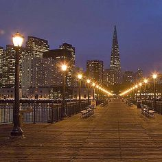 San Francisco Skyline After Dark http://patricialee.me