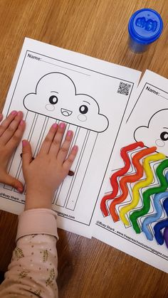 Free 5 playdough mats for preschoolers perfect for spring season and Easter holiday. your kid will enjoy this colorful activity, learn more about colors and improve fine motor skills Emotions Preschool, Preschool Activities At Home, Fine Motor Activities For Kids, Free Preschool, Kids Learning, Learning Activities, Mobile Learning, Learning Quotes, Diy Montessori Toys
