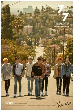 GOT7 <7 for 7> TEASER IMAGE  #GOT7 #갓세븐 #7for7 #YouAre