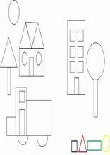 Øvelser for barn. Geometriske former 26 English Worksheets For Kids, School Worksheets, School Resources, Printable Worksheets, Kindergarten Math, Teaching Math, Simple Shapes, Special Education, Geometric Shapes