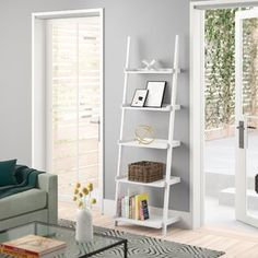 Shop a great selection of Ricardo Ladder Bookcase Zipcode Design. Find new offer and Similar products for Ricardo Ladder Bookcase Zipcode Design. Step Bookcase, Etagere Bookcase, Bookcase Shelves, Ladder Bookcase, Wood Shelves, Shelving, Credenza, Bookcases, Ladder Desk