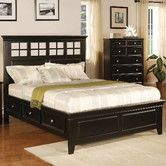 Found it at Wayfair - Winners Only, Inc. Del Mar Storage Panel Bed