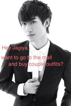 Yes! Zhou mi! I would dream going to the mall with you and shop!!! Eeeeee!  *sister pinches me* thanks now I am awake.  -Anna chen Kpop hey girl #Zhou Mi #Super Junior M