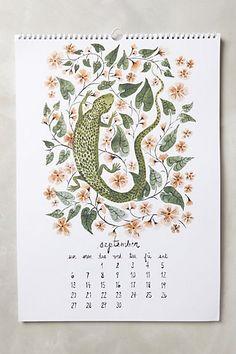 Wildlife 2015 Calendar - anthropologie.eu