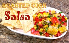 The sweetness of fresh roasted sweet corn is a perfect complement to the acidic tang of juicy, ripe tomatoes and the kick of fresh jalapeno! You're going to LOVE my Roasted Corn Salsa!