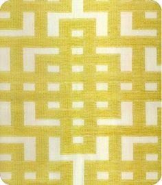 Akiran yellow and white fabric 35