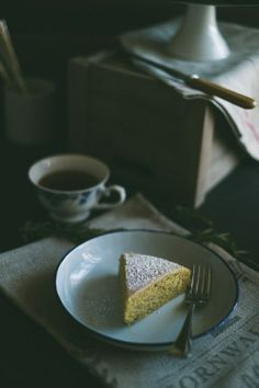 Rosemary Semolina Olive Oil Lemon Cake (Souvlaki For The Soul)