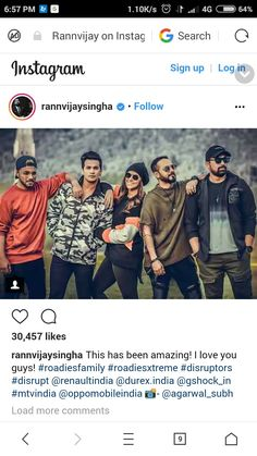 Instagram Sign, Search Instagram, Mtv Roadies, I Love You, My Love, Squad, Prince, Bob, Celebs