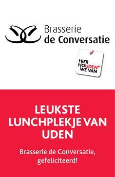 2015 | Verkiezing: Het leukste lunchplekje van Uden: Brasserie de Conversatie!