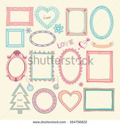 Hand Drawn Picture Frame Stockfotos und -bilder | Shutterstock