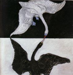 Hilma af Klint, The Swan (No. 17), 1914-15