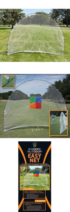 Protective Gear 62167: Golf, Gifts And Gallery Portable Golf Net Swing Training Aid -> BUY IT NOW ONLY: $32.7 on eBay! #GolfNet