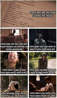 Some with concern.   23 Times Tumblr's Love For Captain America Got It Right