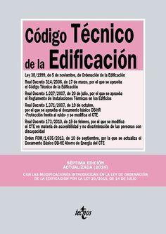 Código técnico de la edificación, 7ª ed., 2016