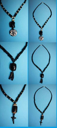 @@@@BlackCoral4you Black Coral-Pendants and Sterling Silver / Coral Negro-Pendientes o Dijes y Plata 925