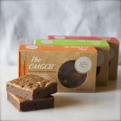 Brownie Combo Pack   $16. Amazing flavors including: The Brownie, The Kona and The OMGCB. Available at: manykitchens.com
