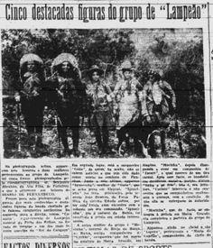 A vida e as atividades de Lampião e Maria Bonita estampavam os jornais da época.