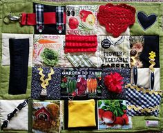 Symbol Of The Brand Patchwork Quilt Delaying Senility Home & Garden