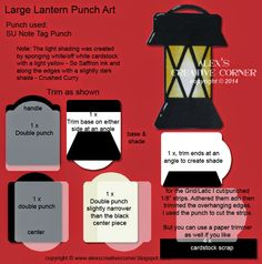 Alex's Creative Corner  Stampin' Up!  Lantern