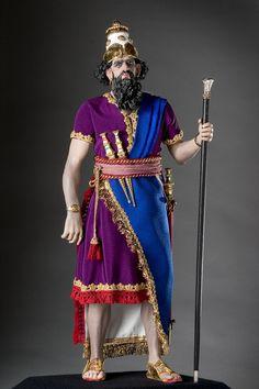 Full length color image of King Nebuchadrezzar aka.