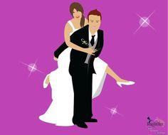 Cartoon degli Sposi
