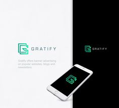 Gratify. Logo design for an advertising agency.