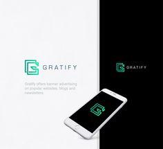 Gratify. Logo design for an advertising agency.