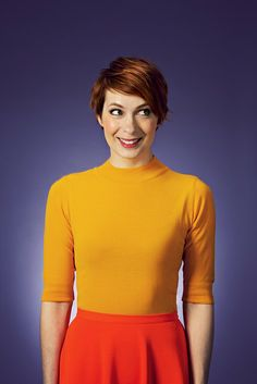 Felicia Day - Love the style of this picture.