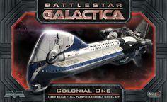 FabGearUSA - Battlestar Galactica Colonial One Model Kit, $39.95 (http://www.fabgearusa.com/battlestar-galactica-colonial-one-model-kit/)