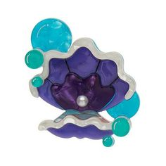 """Erstwilder Limited Edition Treasure Within Brooch. """"At the end of the day all I am is Calcium Carbonate. It just goes to show the truth is we're all a product of our environment. """""""