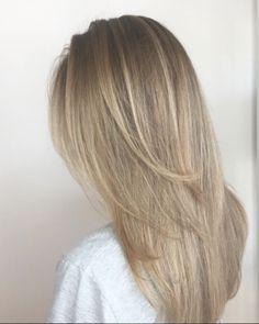 Beige blonde. Hair by SALON by milk + honey stylist, Krystal N. #blonde #beigehair #haircolor #milkhoneyhair