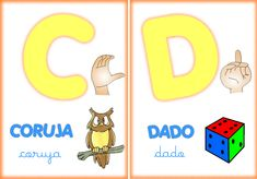 VISITE A GALERIA DE ALFABETOS  CLICANDO AQUI!   __    Este é um alfabeto ilustrado em libras, para ver as imagens em tamanho maior clique so...