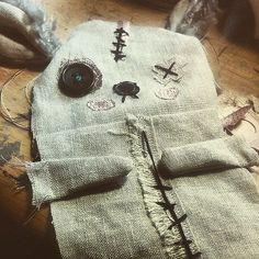 Junker Jane doll construction detail - so sweet !!