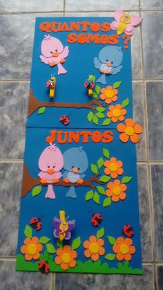- New Deko Sites School Board Decoration, School Door Decorations, Class Decoration, Preschool Classroom Decor, Preschool Crafts, Craft Projects, Crafts For Kids, Foam Crafts, Diy Arts And Crafts